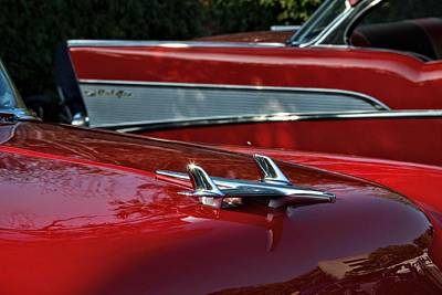 Photograph - Chevys by Dean Ferreira