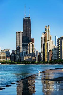 Photograph - Chicago Skyline by Dawid Swierczek