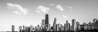 Skylines Royalty-Free and Rights-Managed Images - Chicago Skyline Panorama Photo by Paul Velgos