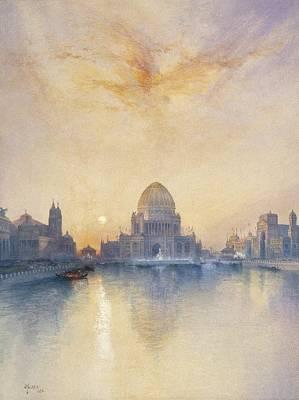 Chicago Worlds Fair Art Print by Thomas Moran