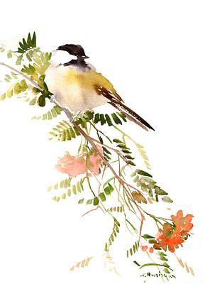 Chickadee Digital Art - Chickadee by Suren Nersisyan