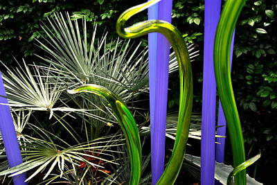 Photograph - Chihuly 3 by Jacqueline M Lewis