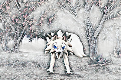 Photograph - Childs Play Pokemon Style K9 by Mary Raderstorf