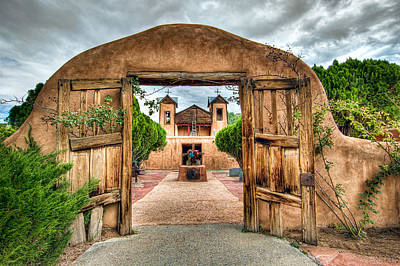 Photograph - Chimayo Church by Anna Rumiantseva