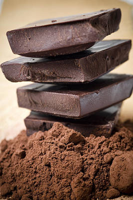 Still Life Royalty-Free and Rights-Managed Images - Chocolate by Frank Tschakert
