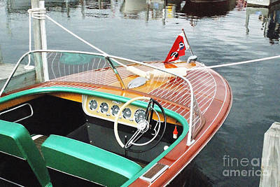 Photograph - Chris Craft Continental by Neil Zimmerman