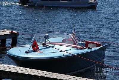 Photograph - Chris Craft Silver Arrow by Neil Zimmerman