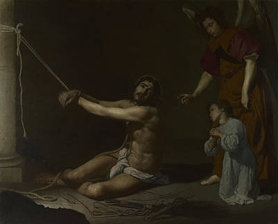 Digital Art - Christ Contemplated By The Christian Soul by Diego Velazquez