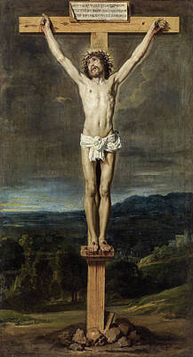 Crucifixion Painting - Christ On The Cross by Diego Velazquez