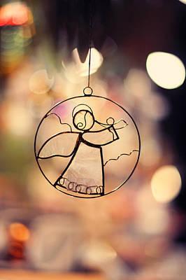 Photograph - Christmas Angel by Jenny Rainbow