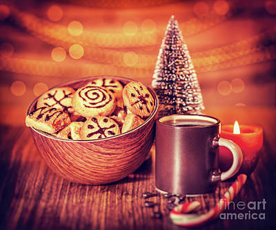 Photograph - Christmas Cookies by Anna Om