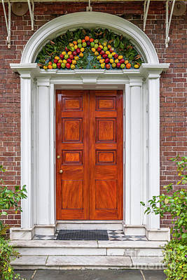 Photograph - Christmas Door by Dale Powell