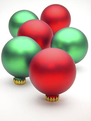 Photograph - Christmas Ornaments by Utah Images
