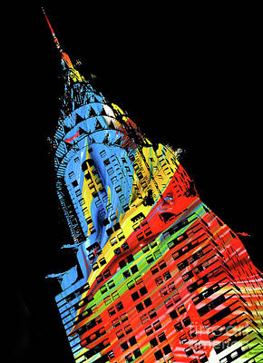 Photograph - Chrysler Building - Doc Braham - All Rights Reserved by Doc Braham