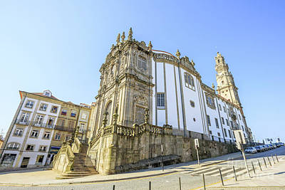 Photograph - Church Of Clerigos Porto by Benny Marty