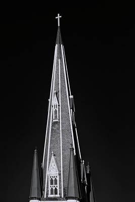 Photograph - Church Steeple And Cross by Robert Ullmann