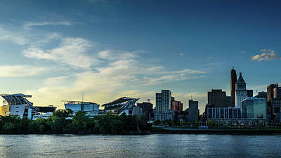 Waterview Photograph - Cincinnati,ohio by Jim Archer