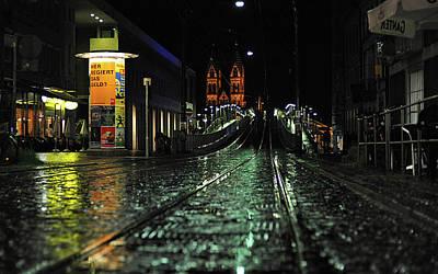 Transportation Digital Art - City by Maye Loeser