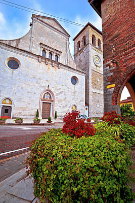 Photograph - Cividale Del Friuli Square And Church View by Brch Photography