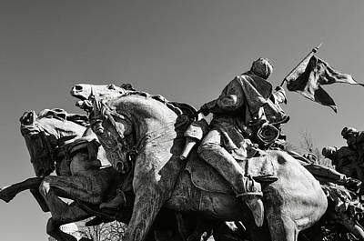 New Years - Civil War Statue by Brandon Bourdages