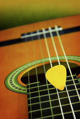 Art Print featuring the photograph Classic Guitar  by Carlos Caetano