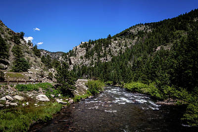 Photograph - Clear Creek Canyon by Jeanette Fellows