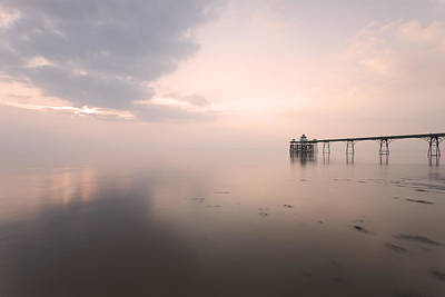 Clevedon Photograph - Clevedon Pier by Don Hooper