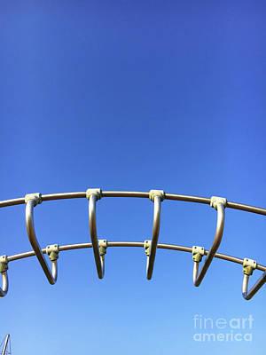 Photograph - Climbing Frame Details by Tom Gowanlock