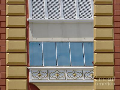 Photograph - Close Up Wall Graphics From Trump Taj Palace Hotel Atalantic Beach America    Photo By Navinjoshi   by Navin Joshi