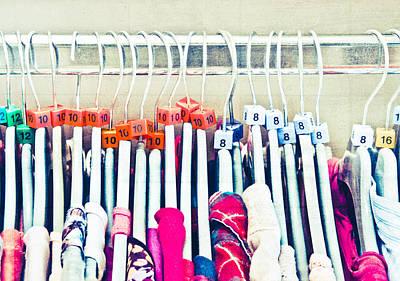 Wholesale Photograph - Clothes Sale by Tom Gowanlock