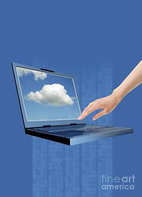 Photograph - Cloud Computing by Victor Habbick Visions