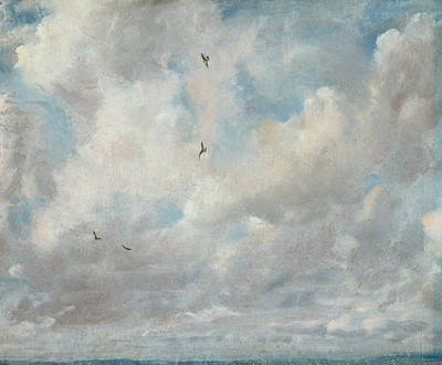 Cloud Study Print by John Constable