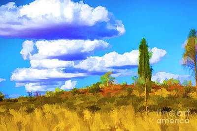 Photograph - Clouds On The Hill by Rick Bragan