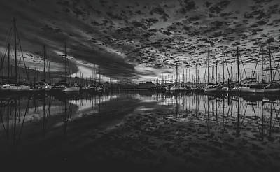 Photograph - Clouds Over The Marina by Pixabay
