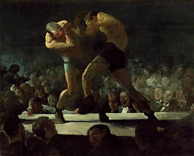 Painting - Club Night by George Bellows