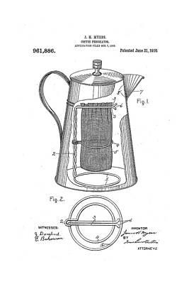 Coffee Percolator Drawings