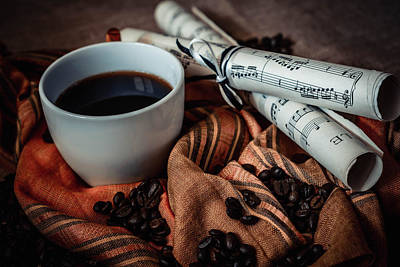 Photograph - Coffee Still Life by Julian Popov