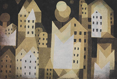 Drawing - Cold City by Paul Klee