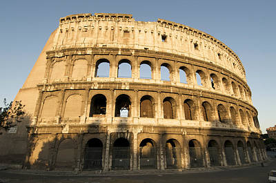 Lazio Photograph - Coliseum. Rome by Bernard Jaubert