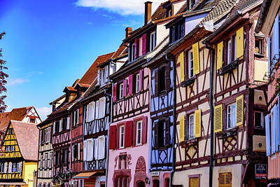 Vineyards Of Alsace Photograph - Colmar - France by Jon Berghoff