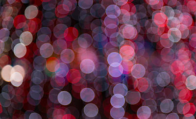 Photograph - Colorful Circles Of Light by Joye Ardyn Durham