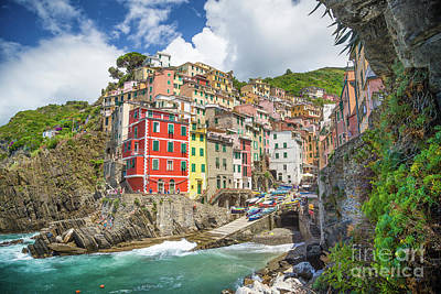 Photograph - Colors Of Cinque Terre by JR Photography