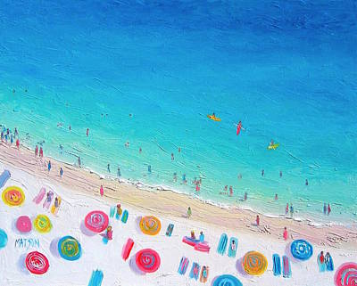 Colors Of The Beach Art Print