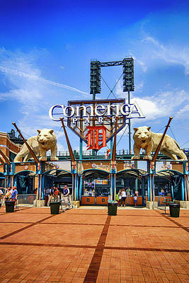 Amy Weiss - Comerica Park Detroit MI by Chris Smith