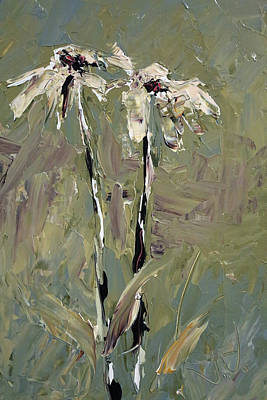 Painting - Cone Flowers by Jim Vance