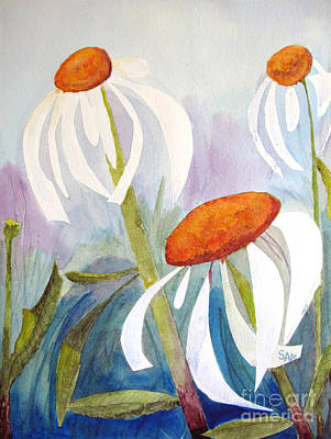 Painting - Coneflowers by Sandy McIntire