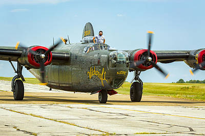 Music Royalty-Free and Rights-Managed Images - Consolidated B-24J Liberator by Jack R Perry
