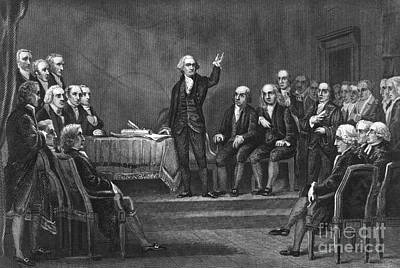 Constitutional Convention Photograph - Constitutional Convention by Granger
