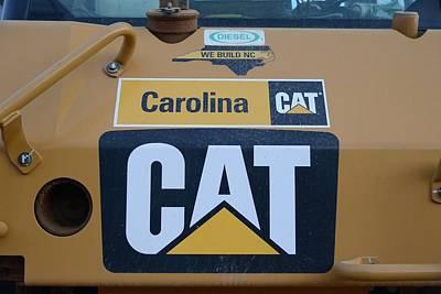 2 - Caterpillar Logo - Cat - Construction Equipment Series  Art Print
