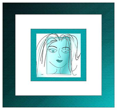 Digital Art - Contentment by Iris Gelbart